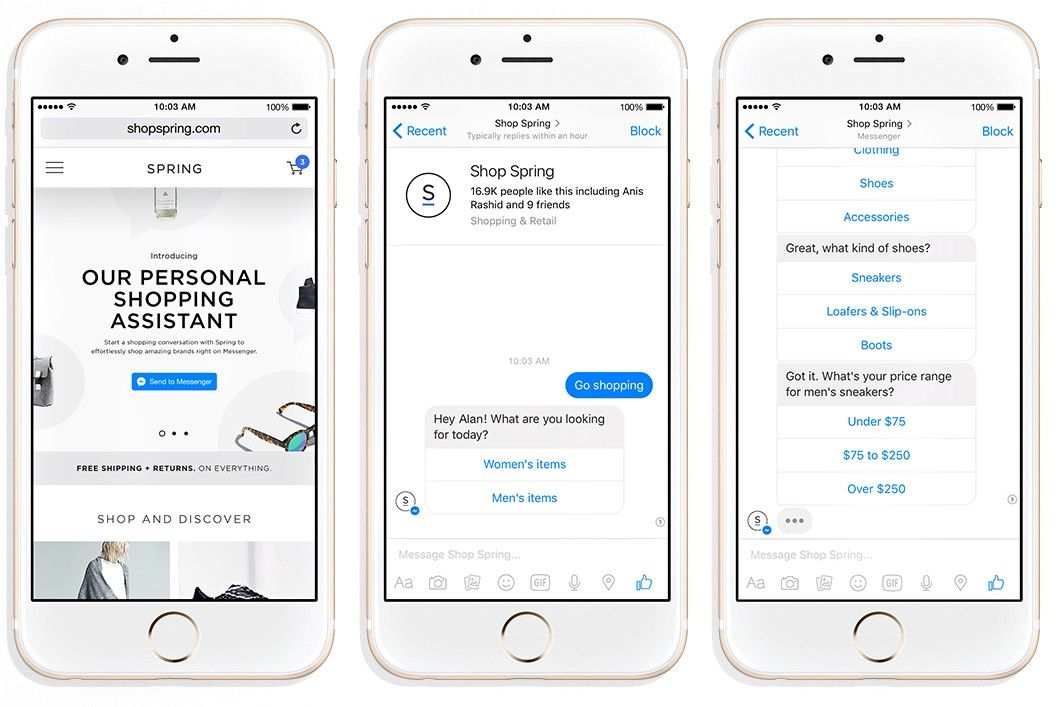 11 Examples of Conversational Commerce and Chatbots